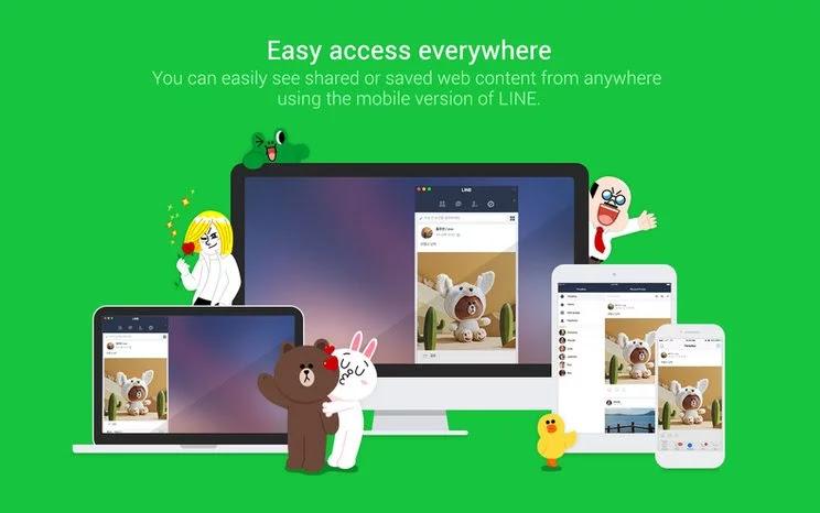 Cara Menggunakan LINE Web di Google Chrome
